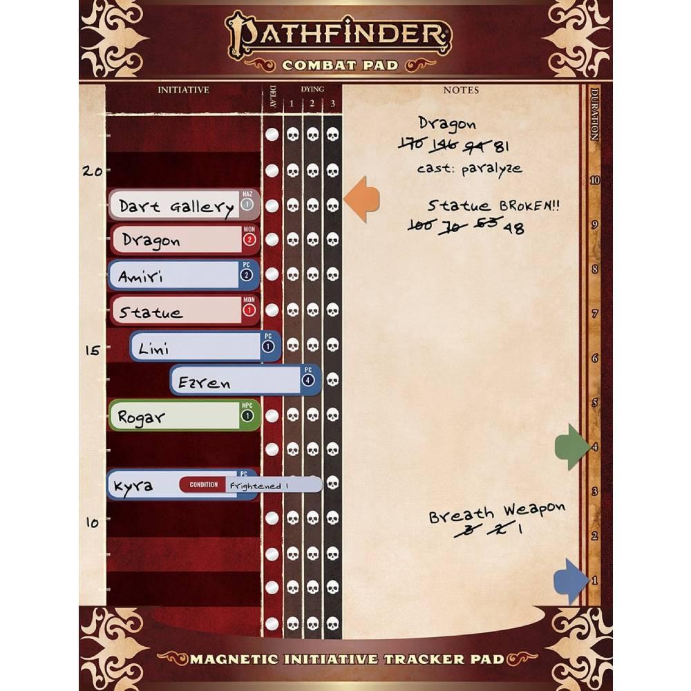 Accesoriu Combat Pad pentru Pathfinder RPG Second Edition