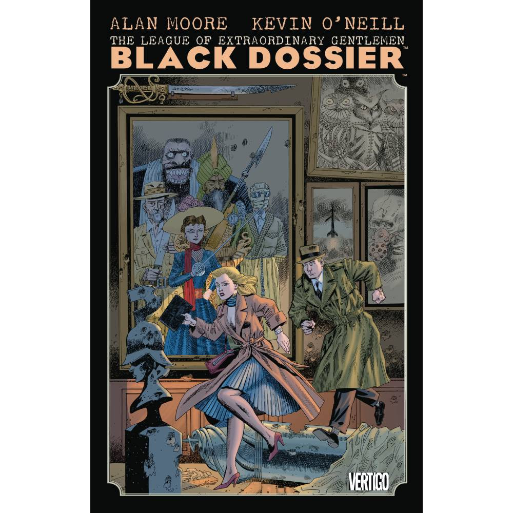 League of Extraordinary Gentlemen The Black Dossier TP