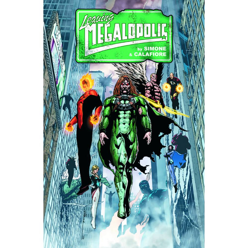 Leaving Megalopolis HC Vol 01