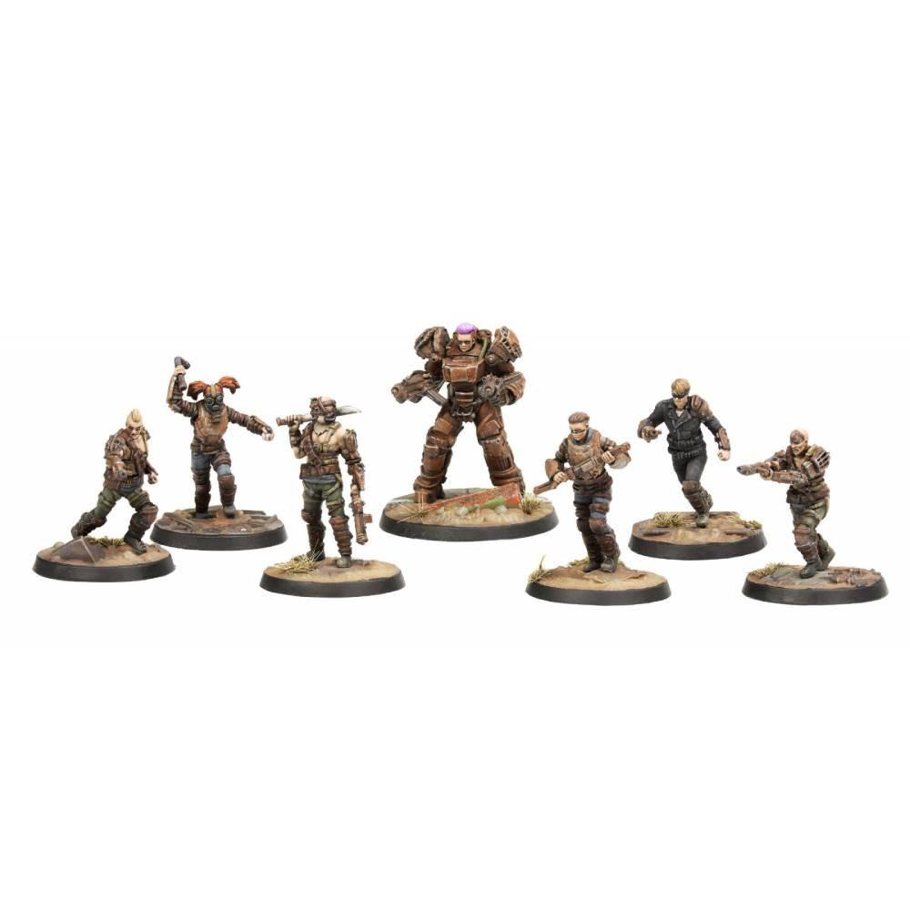 Expansiune Fallout: Wasteland Warfare - Raiders Core Set Miniaturi