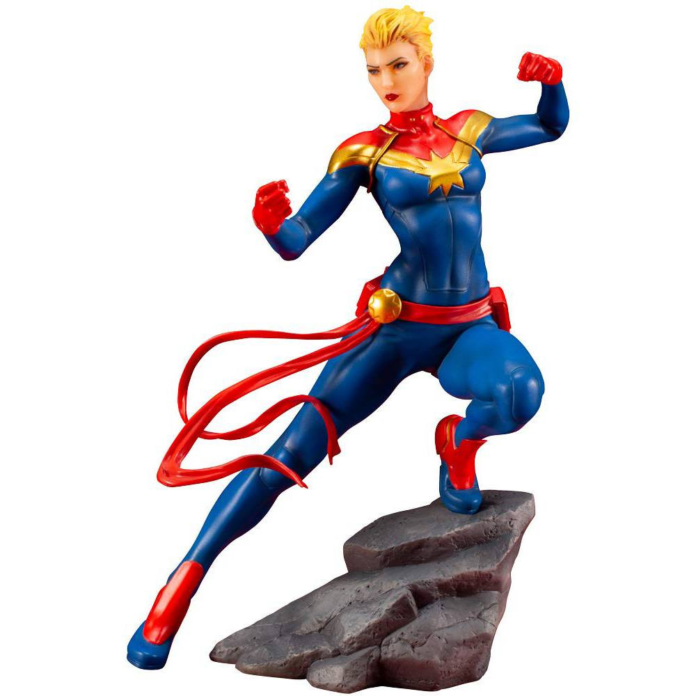 Figurina Marvel Comics Avengers Series Captain Marvel Artfx