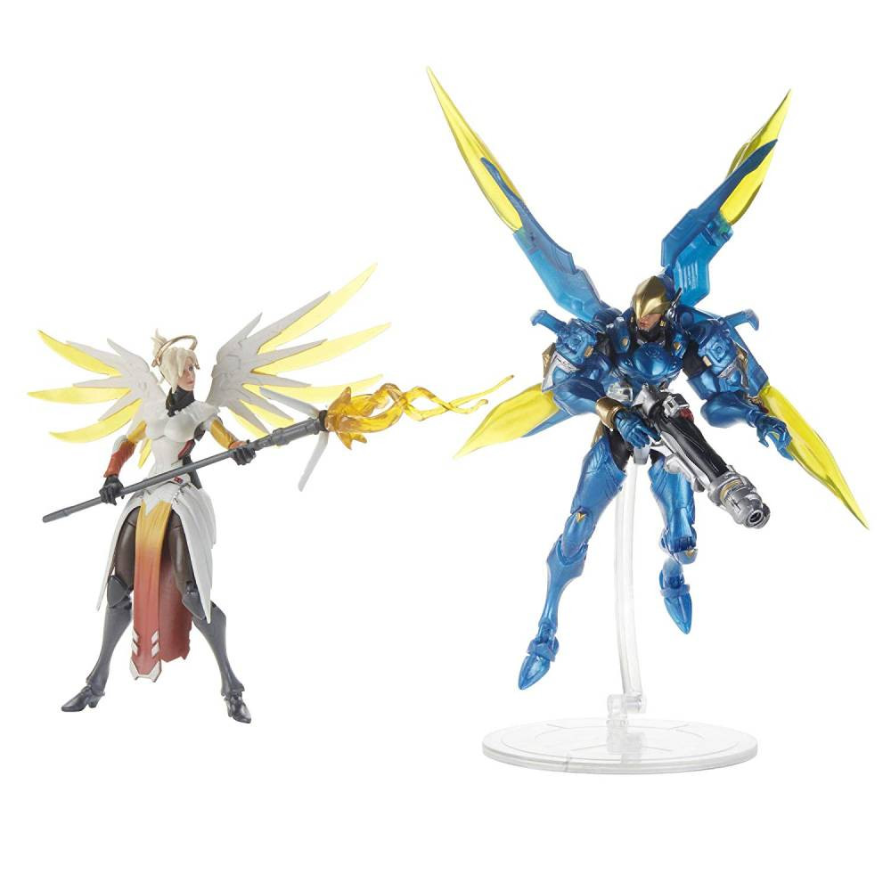 Pachet 2 Figurine Overwatch Ultimates Mercy & Pharah