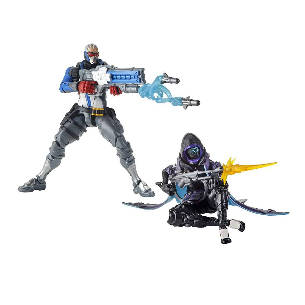 Pachet 2 Figurine Overwatch Ultimates Shrike Ana & Soldier