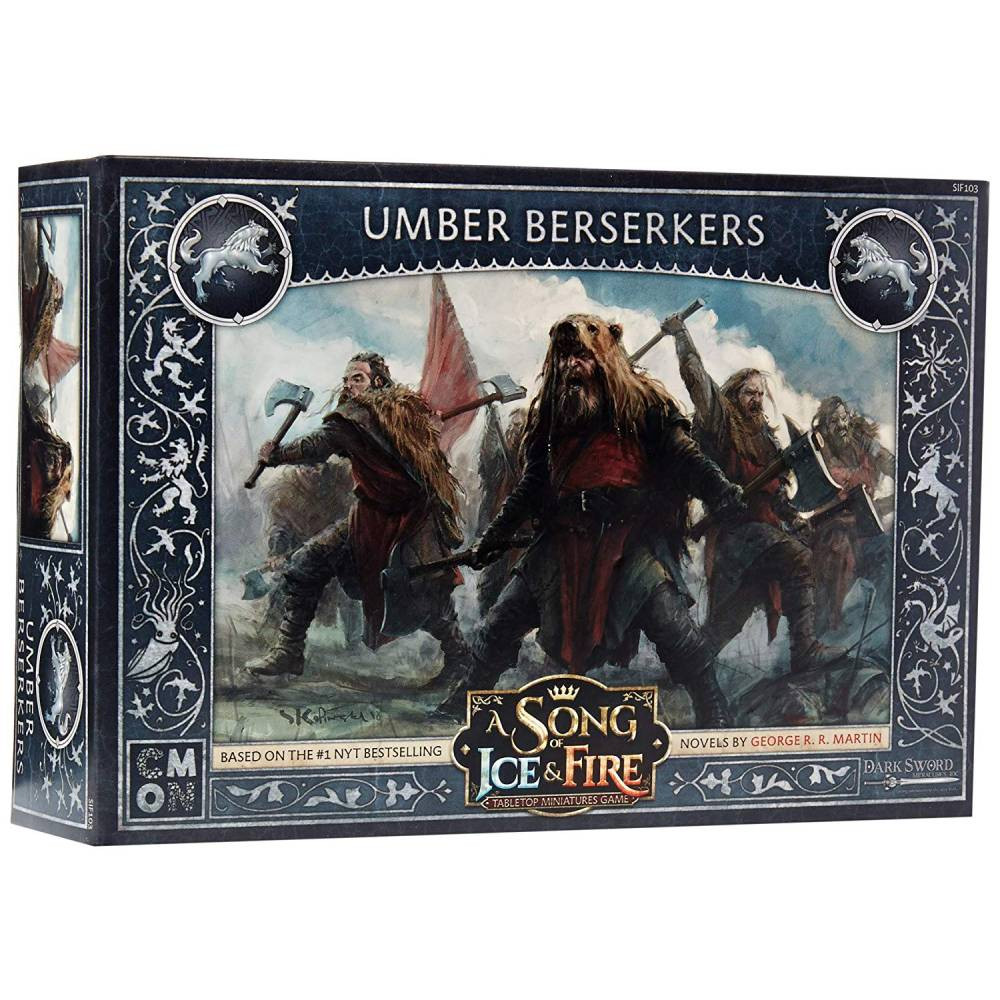 Expansiune A Song Of Ice and Fire Umber Berserkers