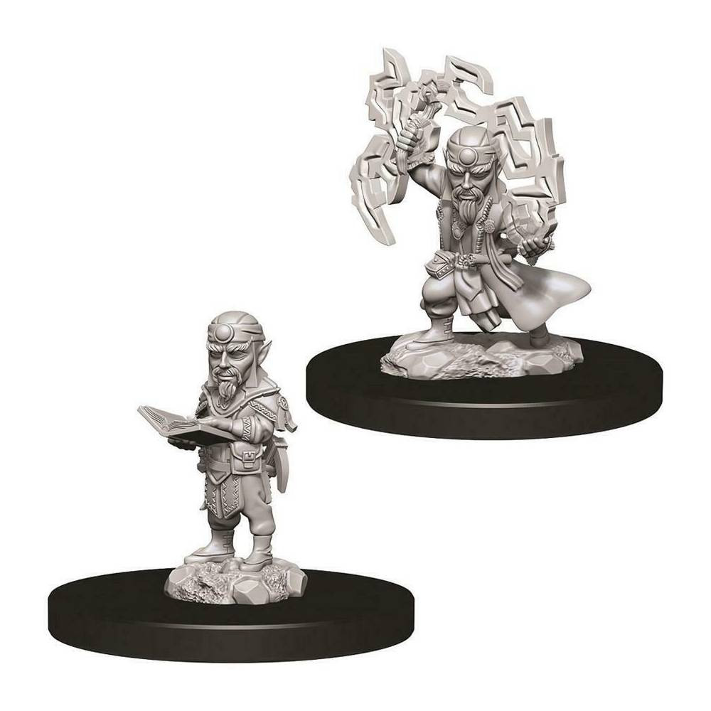 Miniaturi Nepictate Pathfinder Male Gnome Sorcerer