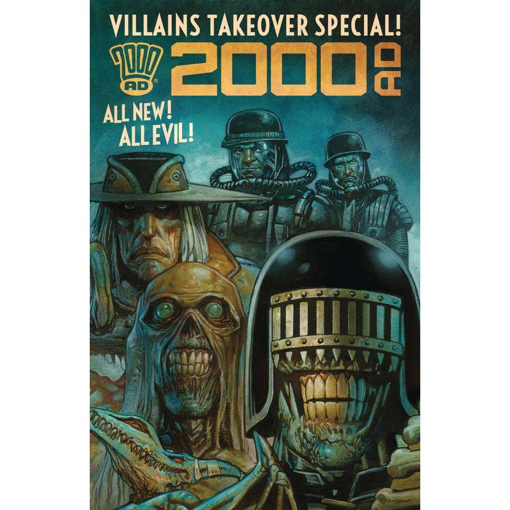 2000 AD Villains Takeover Special Oneshot imagine