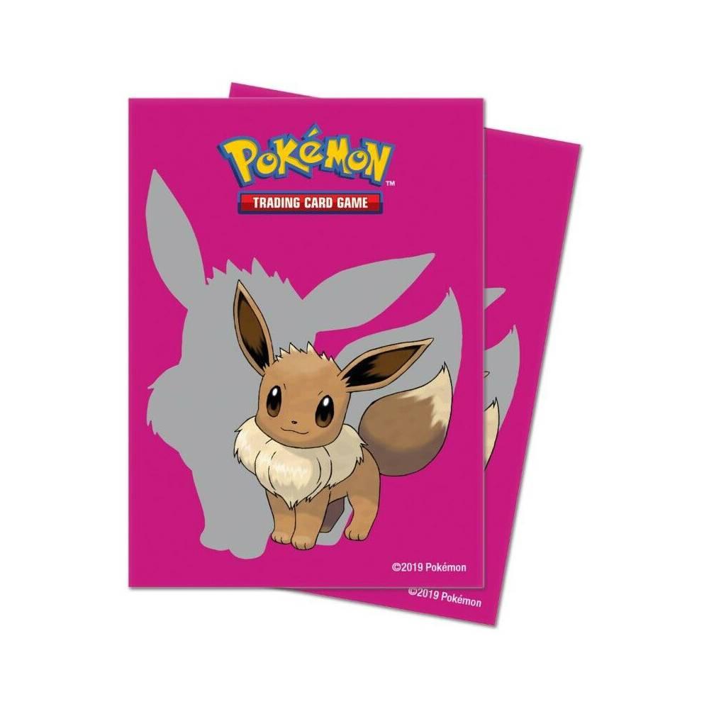 Folii de Protectie Pachet de Carti Pokemon Trading Card Game Eevee 2019