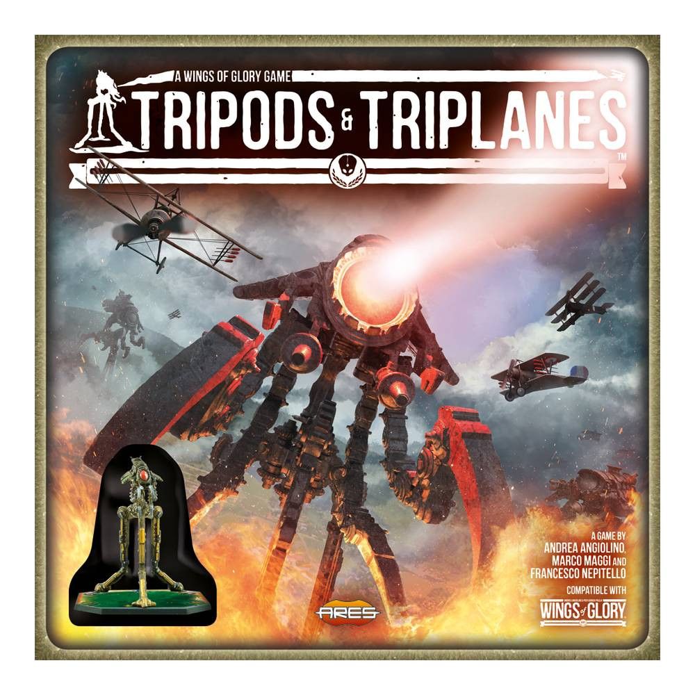 Joc Wings of Glory Tripods & Triplanes Starter Set
