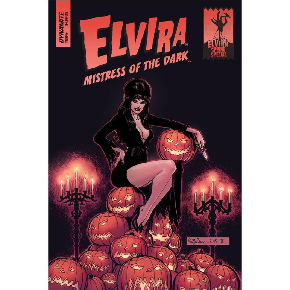 Elvira Mistress of Dark Spring Special One Shot