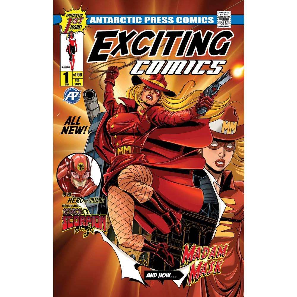 Exciting Comics 01