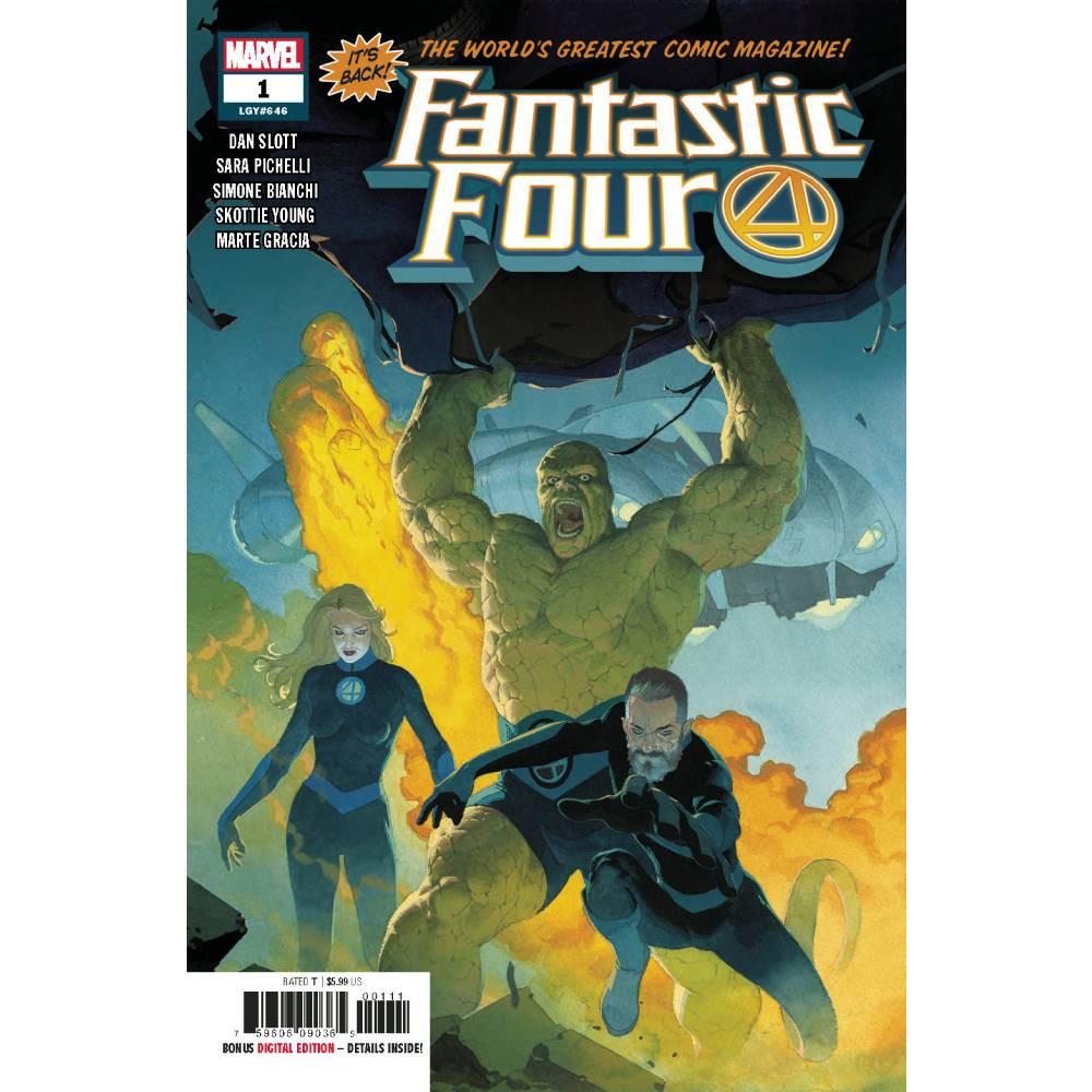 Fantastic Four 01 (2018) Coperta C
