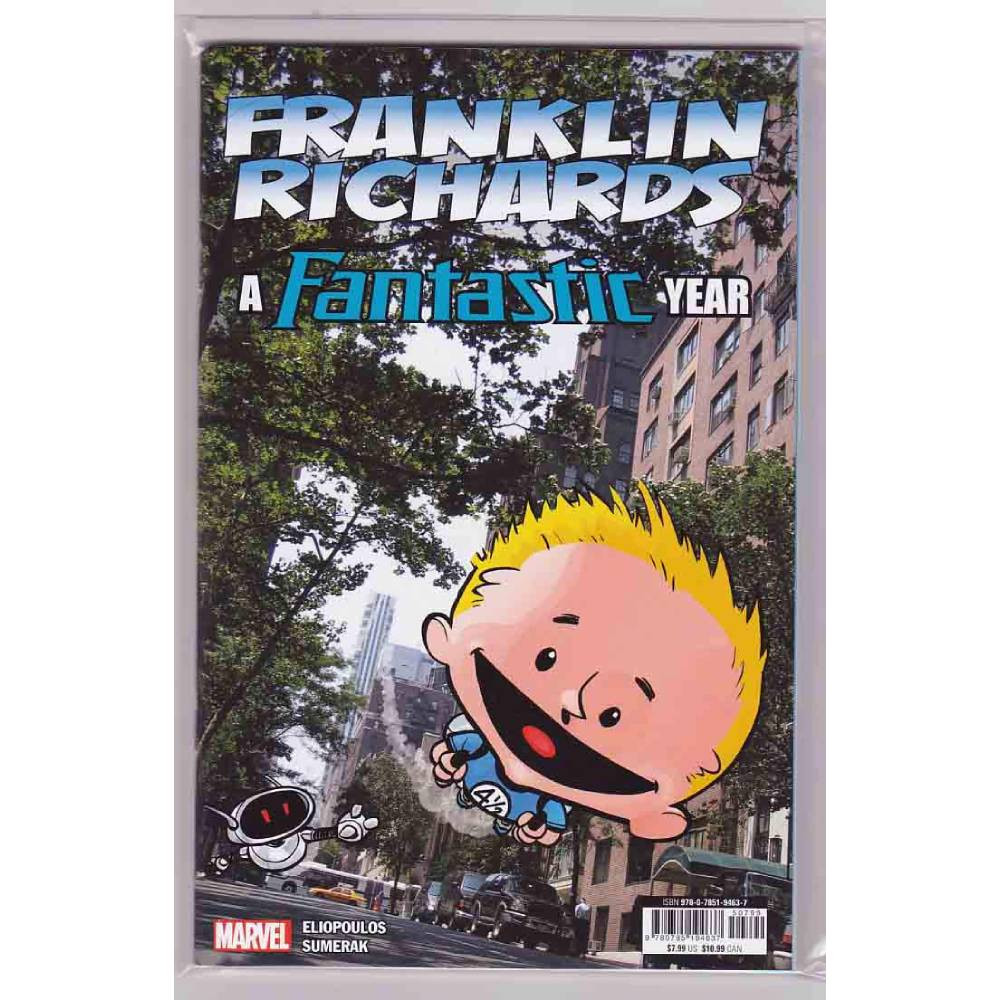 Franklin Richards Fantastic Year 01