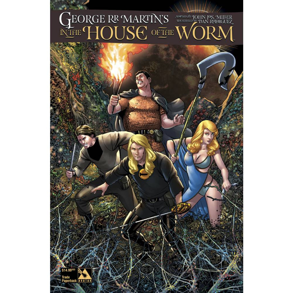 George RR Martin In The House Of The Worm TP