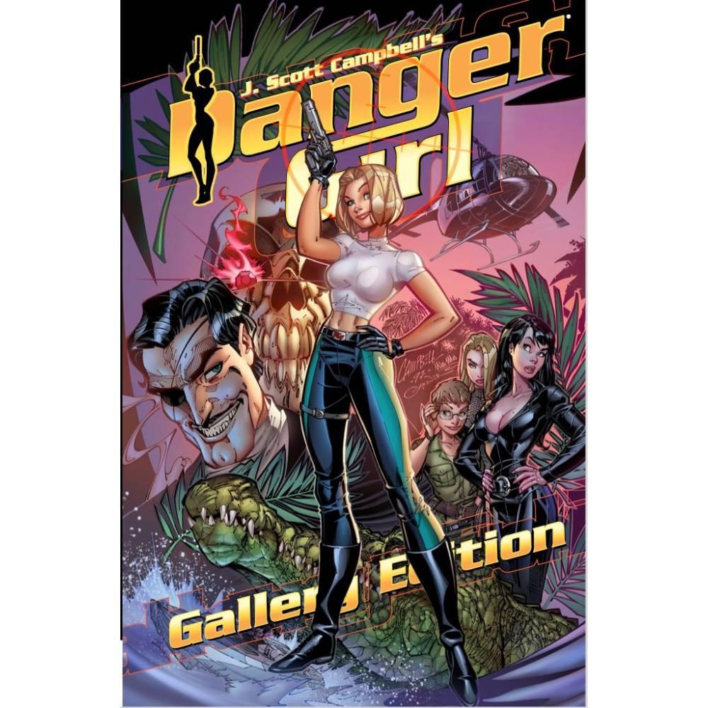 J Scott Campbell Danger Girl Gallery Ed HC
