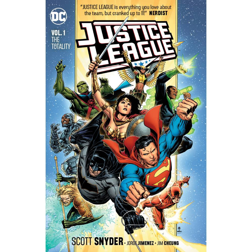 Justice League TP Vol 01 The Totality 2018