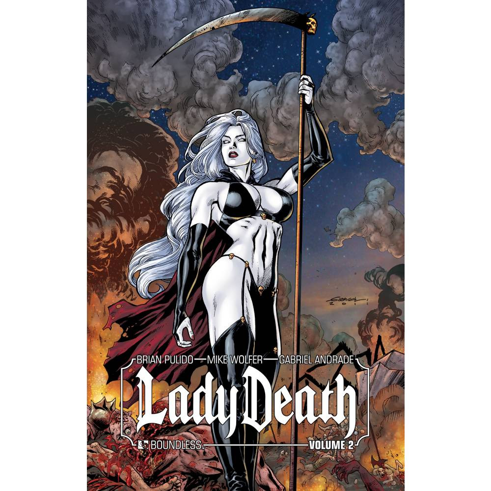 Lady Death HC Vol 02 Signed Edition