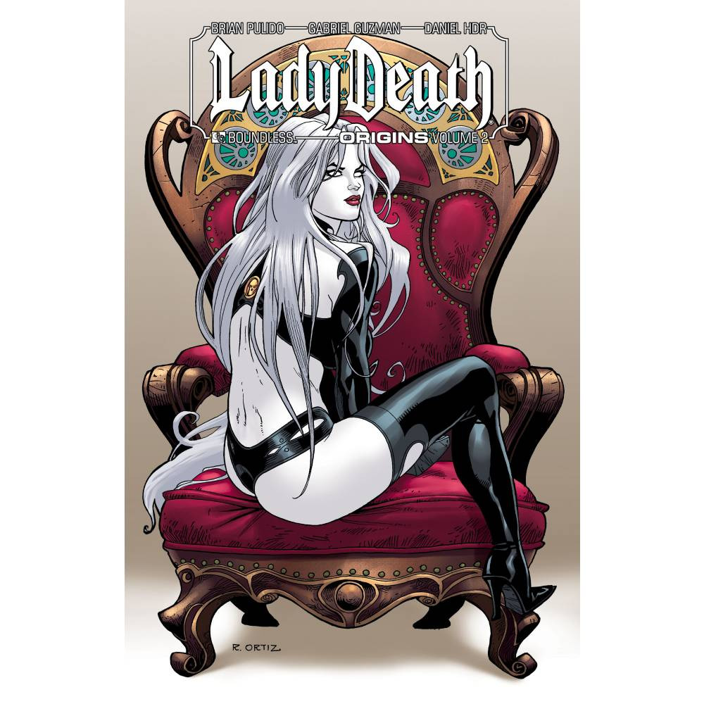 Lady Death Origins HC Signed Edition Vol 02