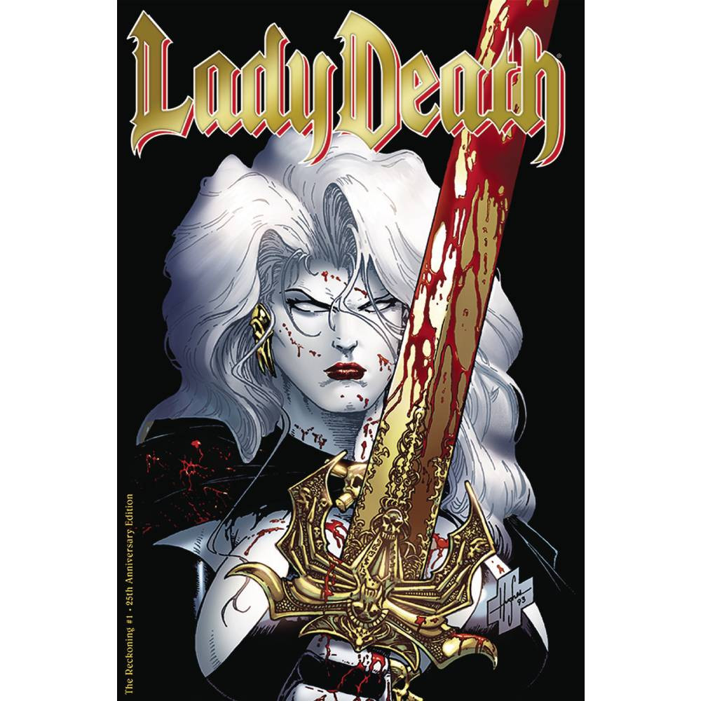 Lady Death The Reckoning 01 25th Anniversary Edition