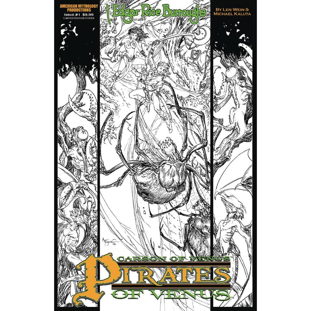 Limited Series - Carson of Venus Pirates of Venus Ltd Ed B&W Cover