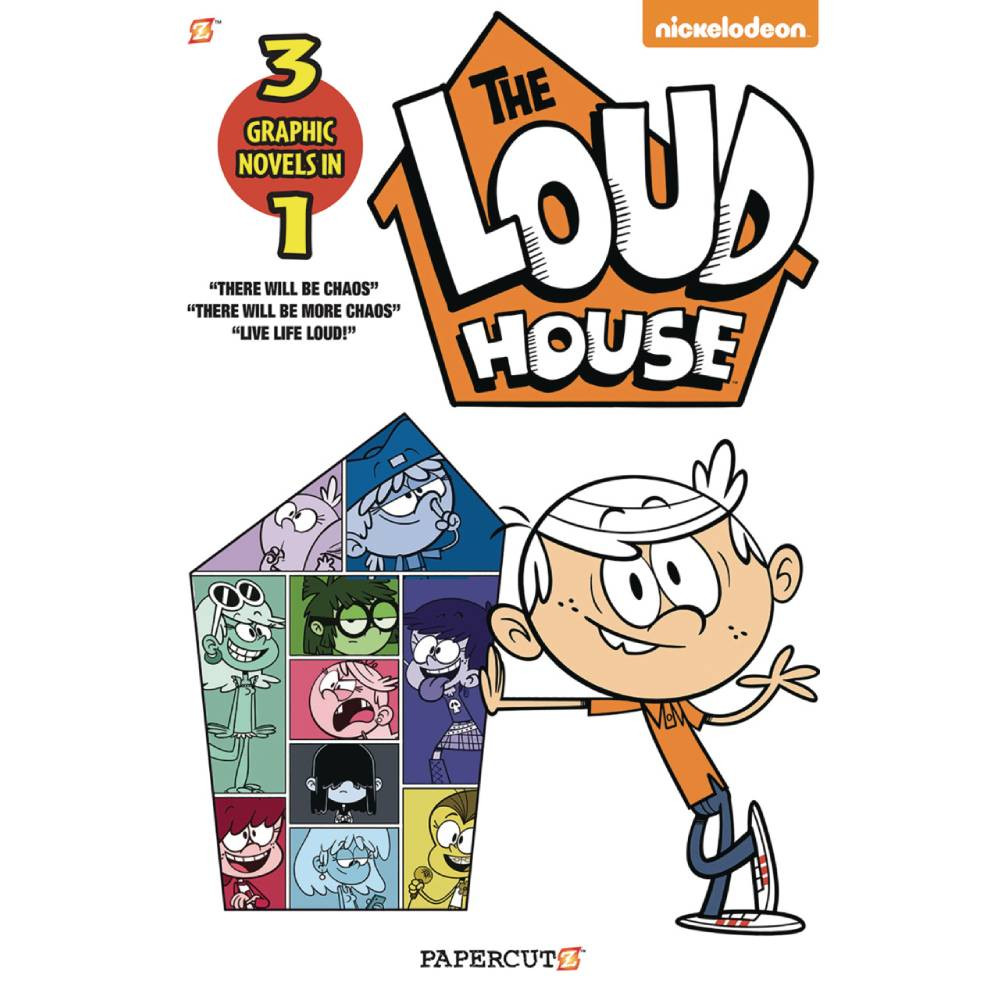 Loud House 3in1 GN Vol 01 imagine