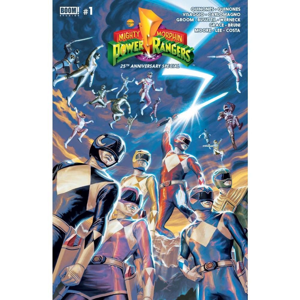 Mighty Morphin Power Rangers Anniversary Special 01
