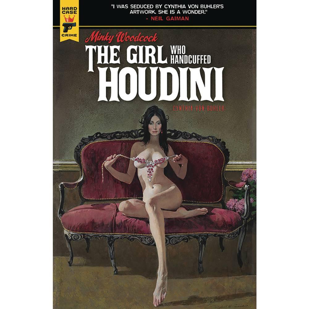 Minky Woodcock Girl Who Handcuffed Houdini HC