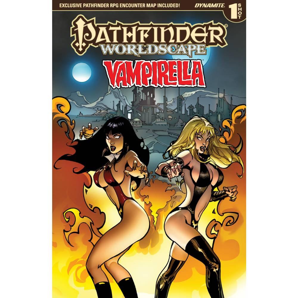 Pathfinder Worldscape Vampirella One Shot