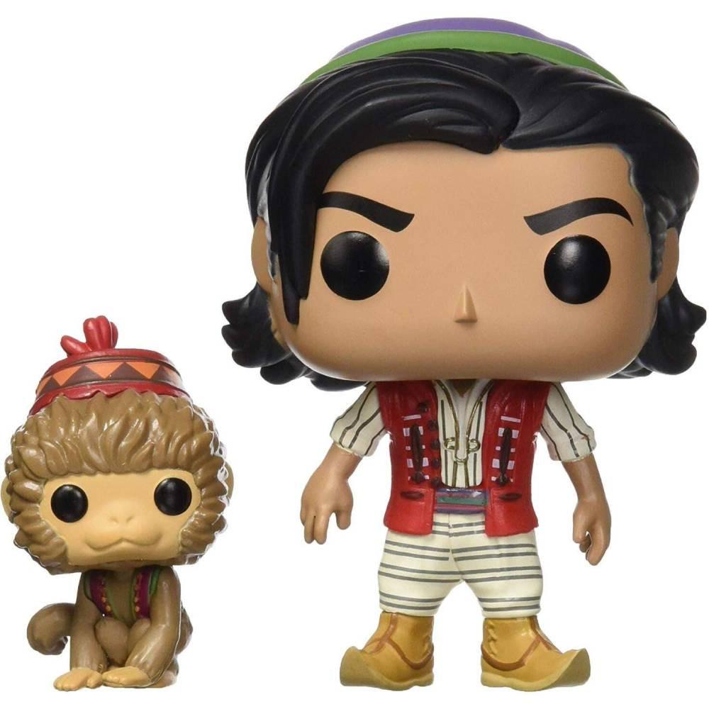 Figurina Funko Pop Aladdin Live Aladdin cu Abu