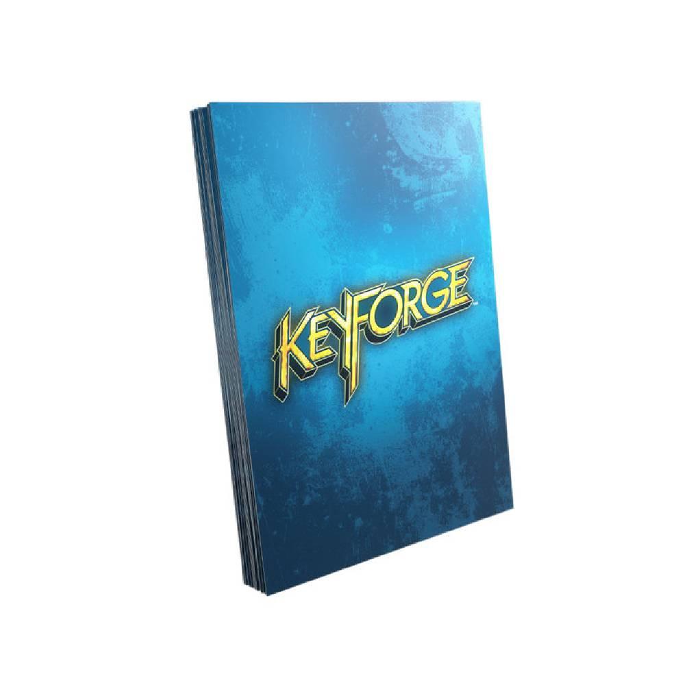 Sleeve-uri Keyforge Logo Card Albastru