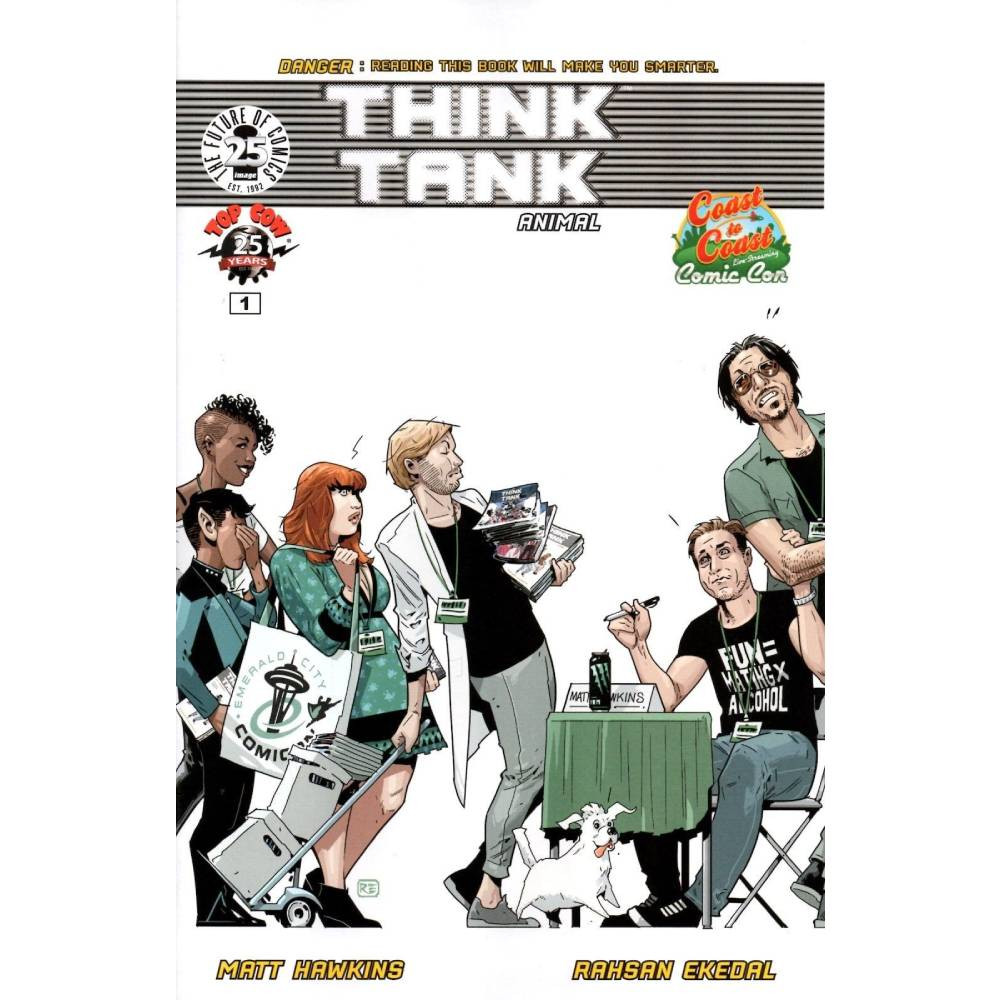 Think Tank 01 Coast to Coast Comic Con Exclusive