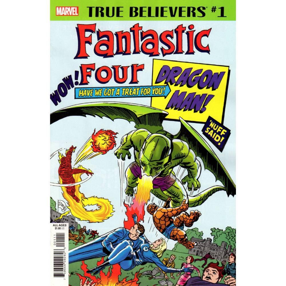 True Believers Fantastic Four Dragon Man 01 imagine