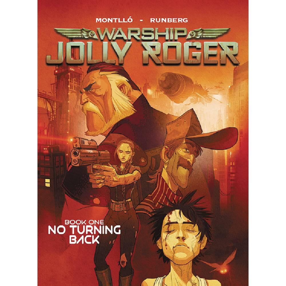 Warship Jolly Roger GN Vol 01