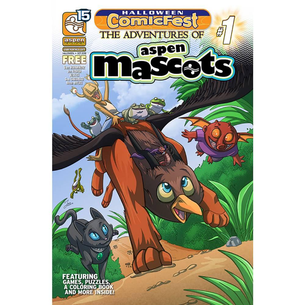 HCF 2018 Aspen Comics Presents Aspen Mascots 01