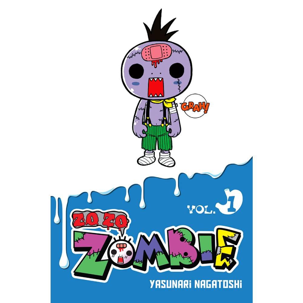 HCF 2018 Zo Zo Zombie Mini Comic