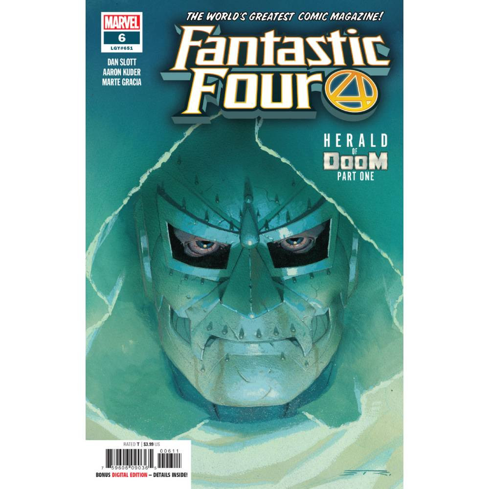 Story Arc - Fantastic Four - Herald of Doom