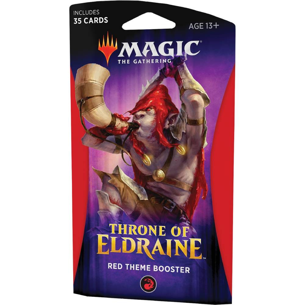 Pachet Magic: the Gathering Throne of Eldraine Theme Booster Rosu