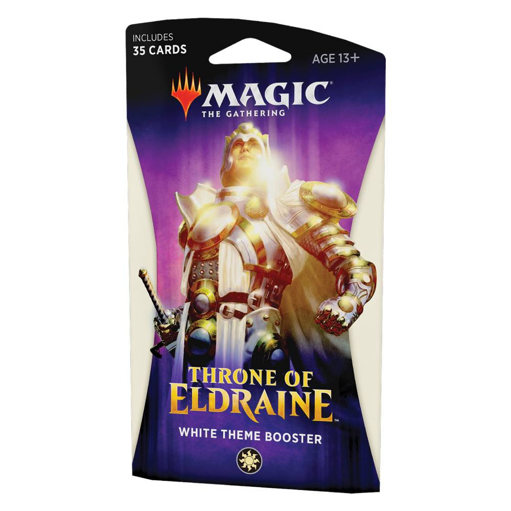 Pachet Magic: the Gathering Throne of Eldraine Theme Booster Alb