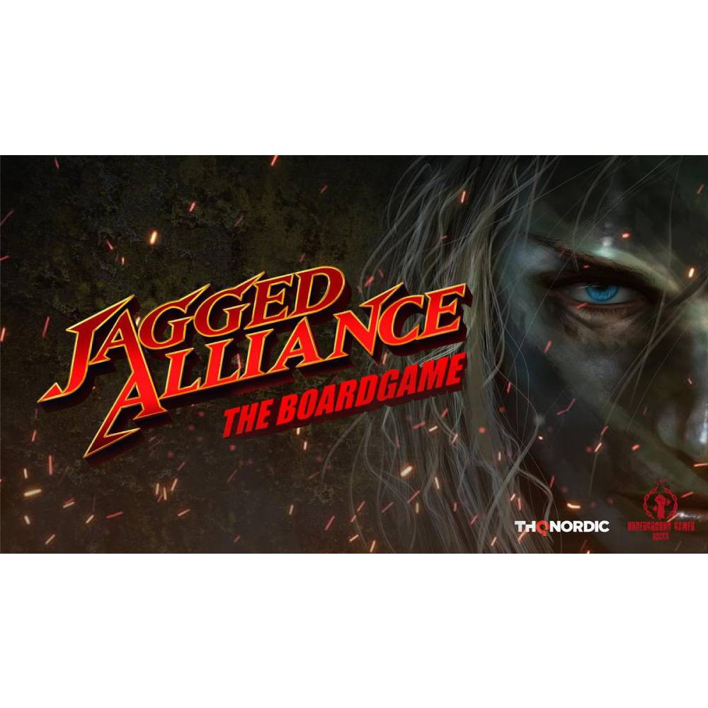 Joc Jagged Alliance The Boardgame