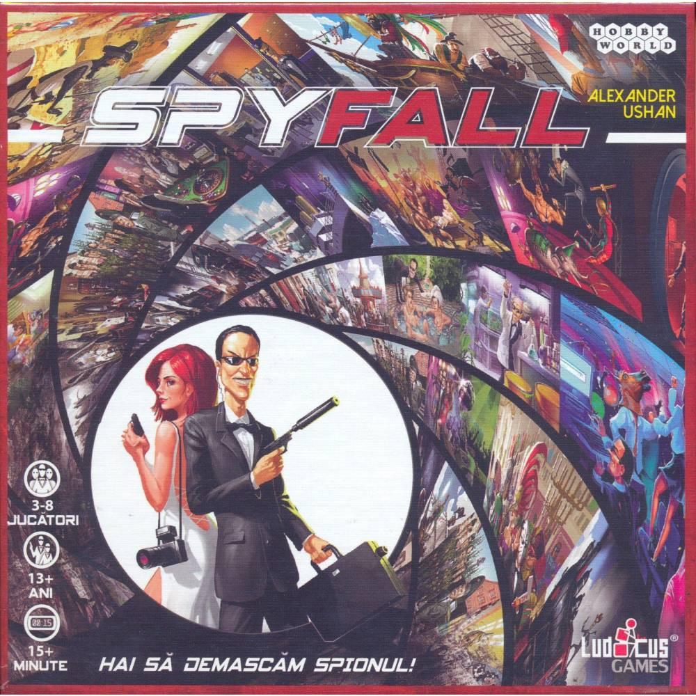 Joc Spyfall (editie in limba romana)