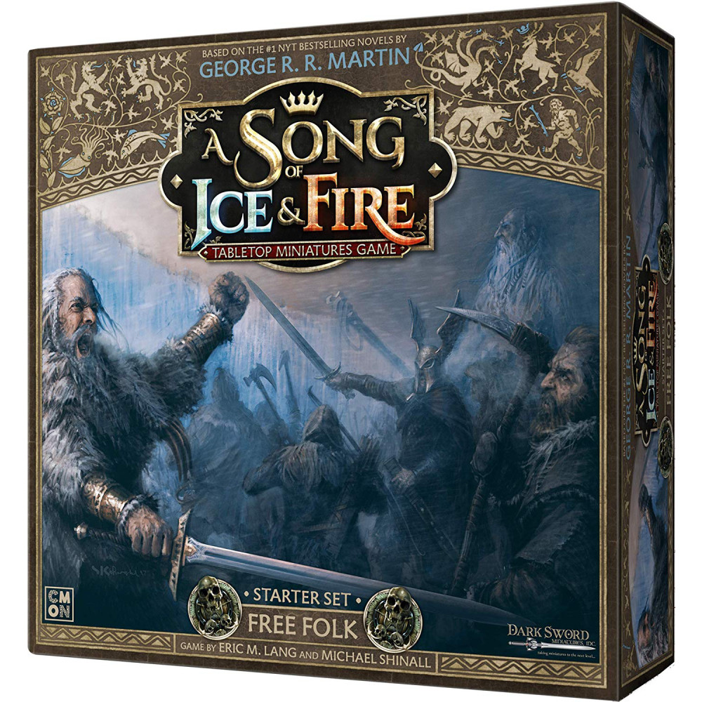 Joc A Song Of Ice and Fire - Free Folk Starter Set