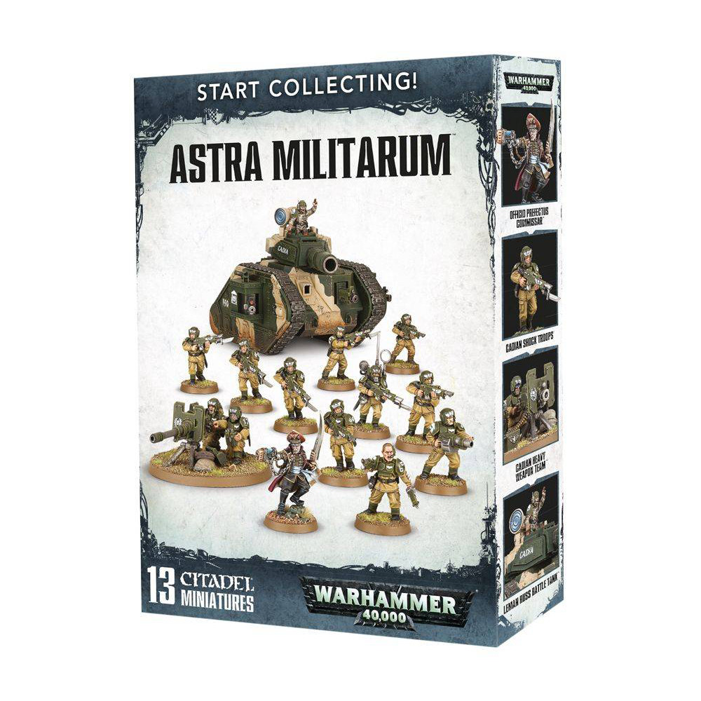 Expansiune Warhammer Start Collecting Astra Militarum