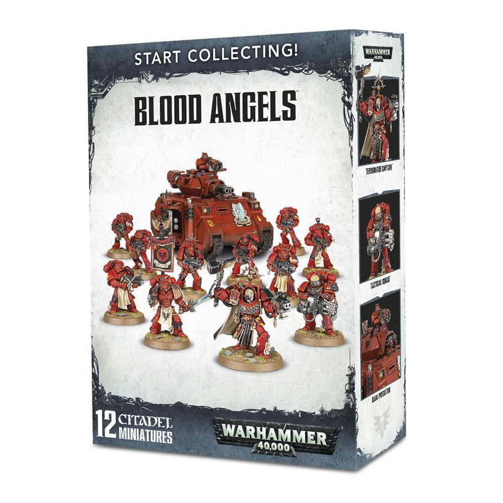 Expansiune Warhammer Start Collecting Blood Angels