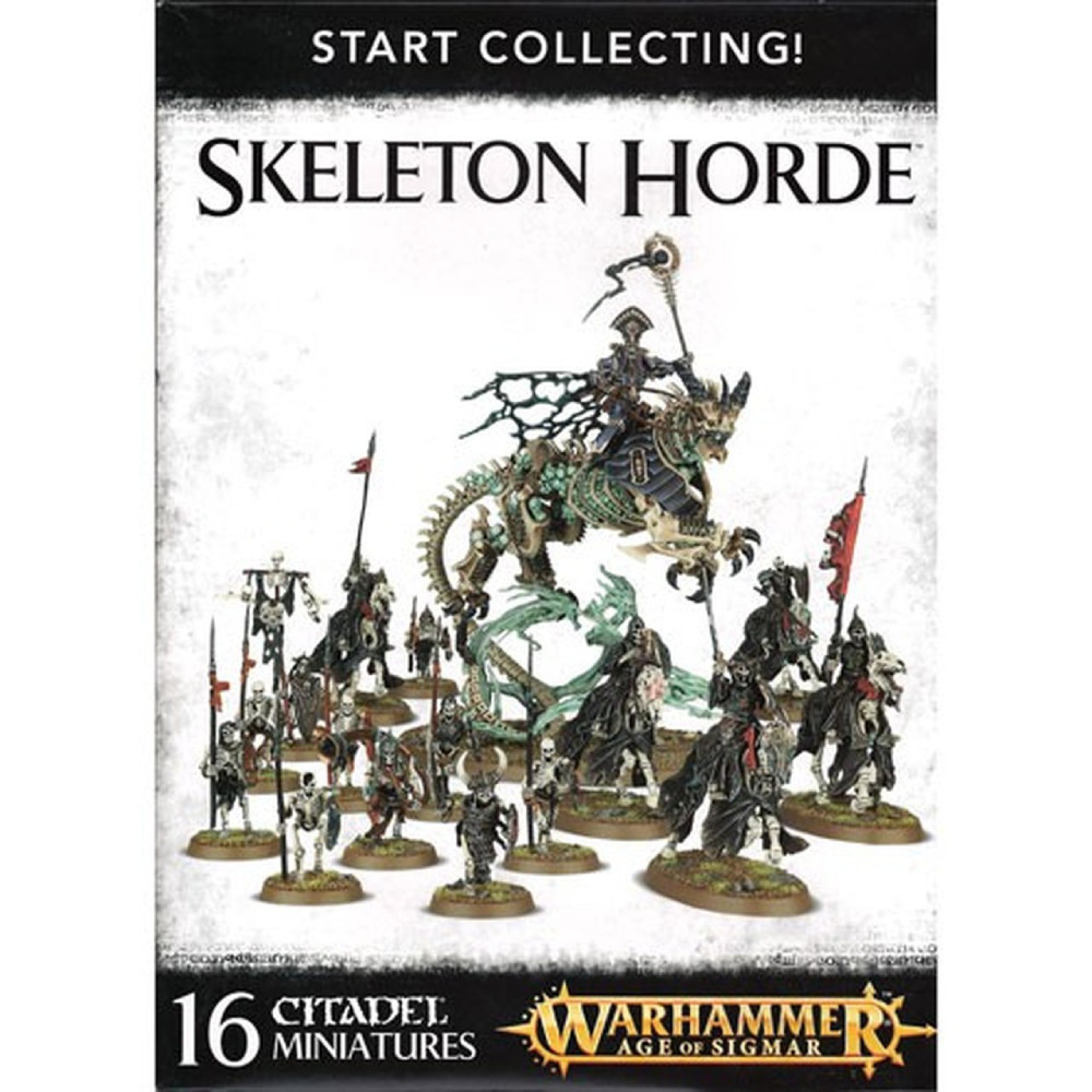 Expansiune Warhammer Start Collecting Skeleton Horde