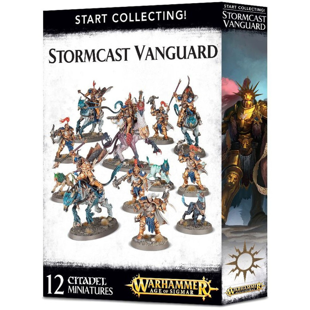 Expansiune Warhammer Start Collecting Stormcast Vanguard