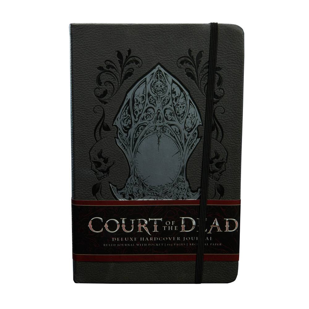 Jurnal Hardcover Court of the Dead Memento Mori imagine