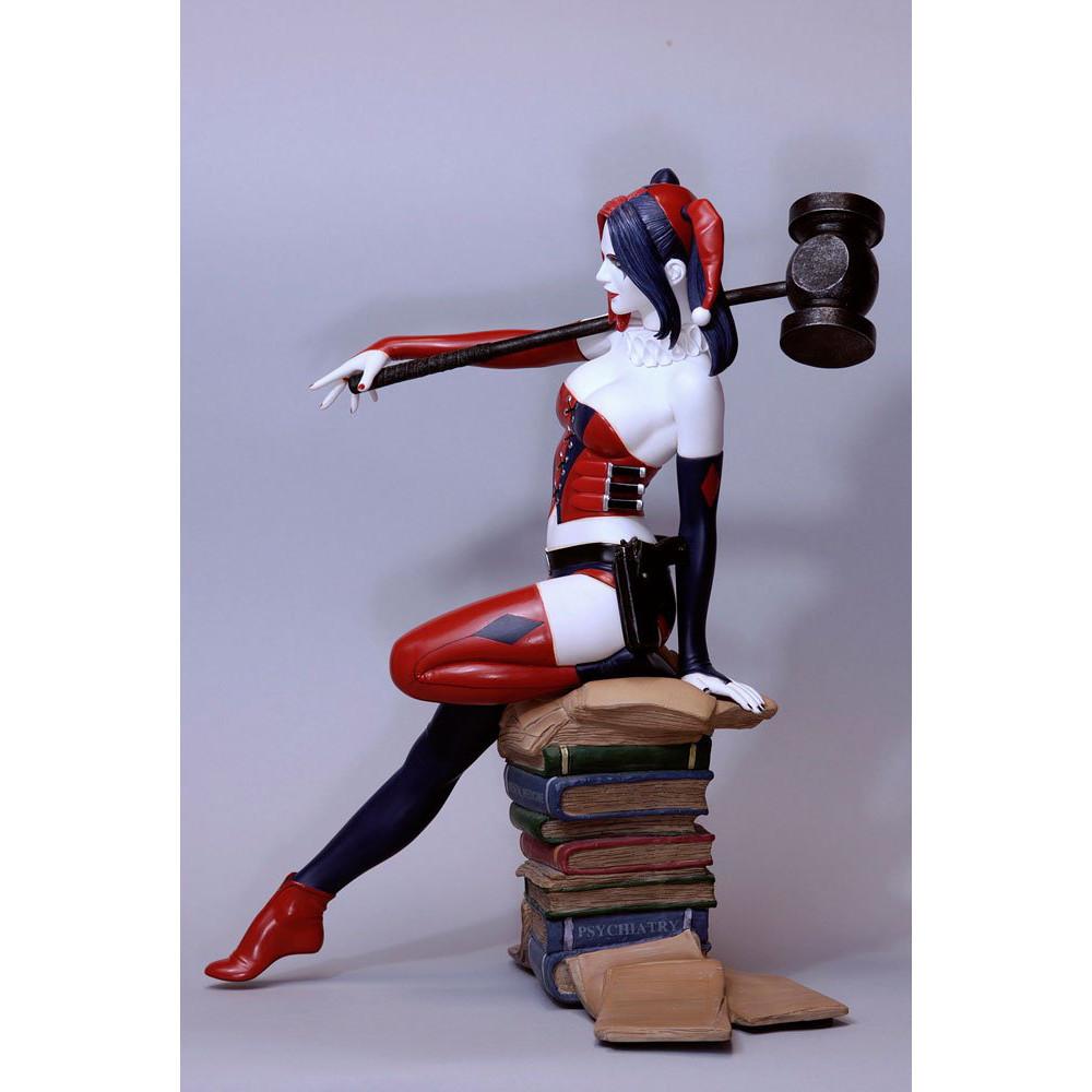 Figurina DC Comics Fantasy Figure Gallery Harley Quinn Luis Rojo Web Exclusive 26 cm - 3
