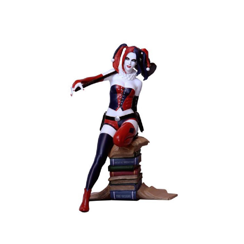Figurina DC Comics Fantasy Figure Gallery Harley Quinn Luis Rojo Web Exclusive 26 cm