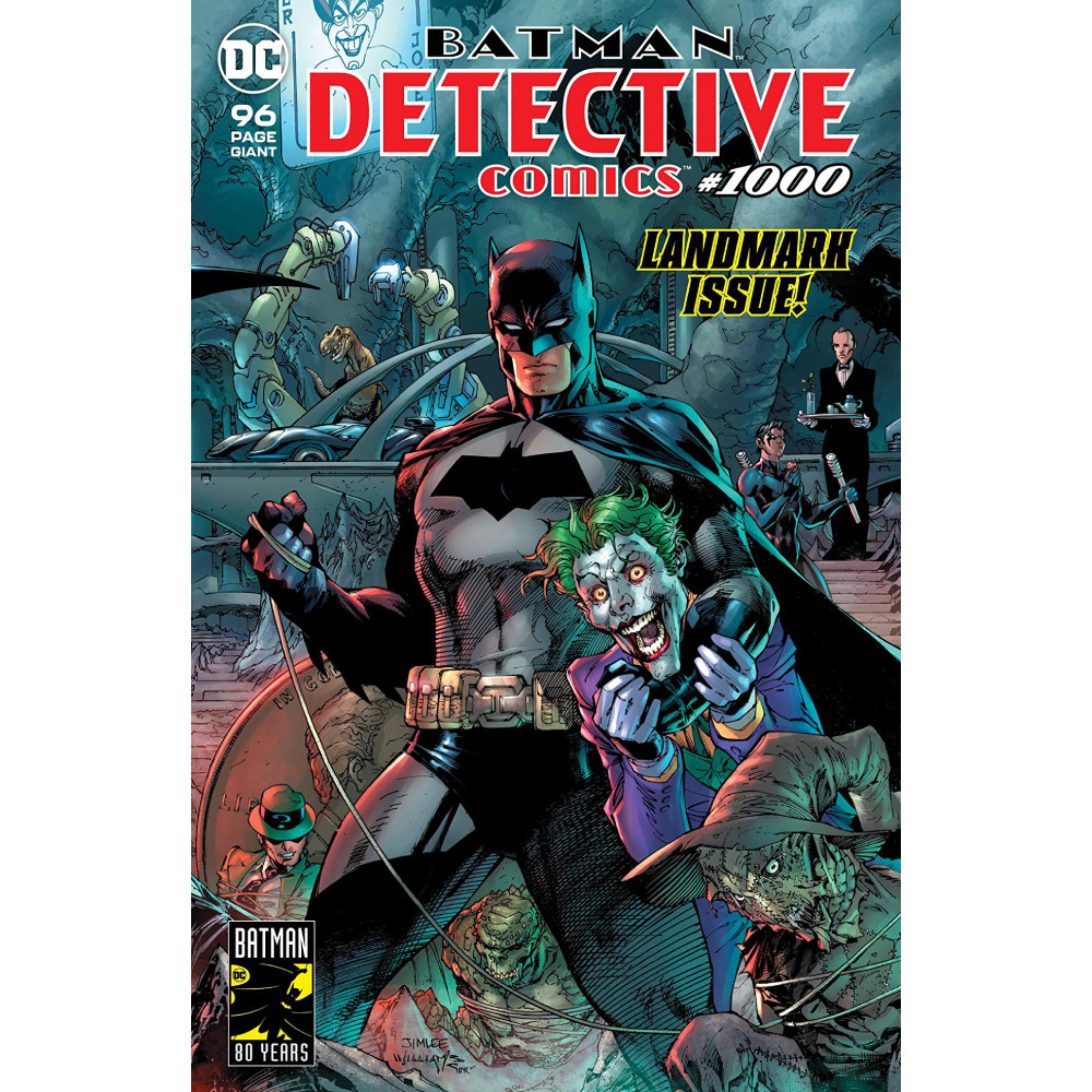 Detective Comics 1000 Coperta F