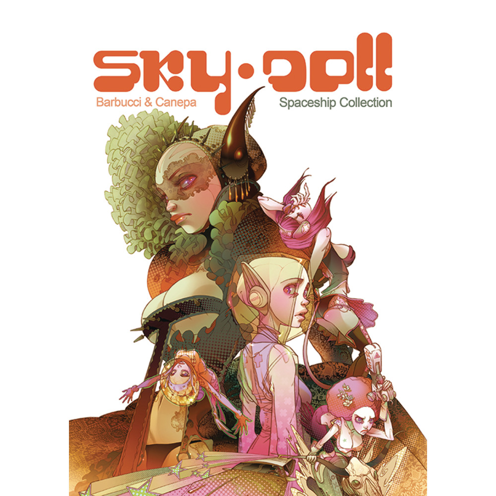 Skydoll Spaceship Graphic Novel