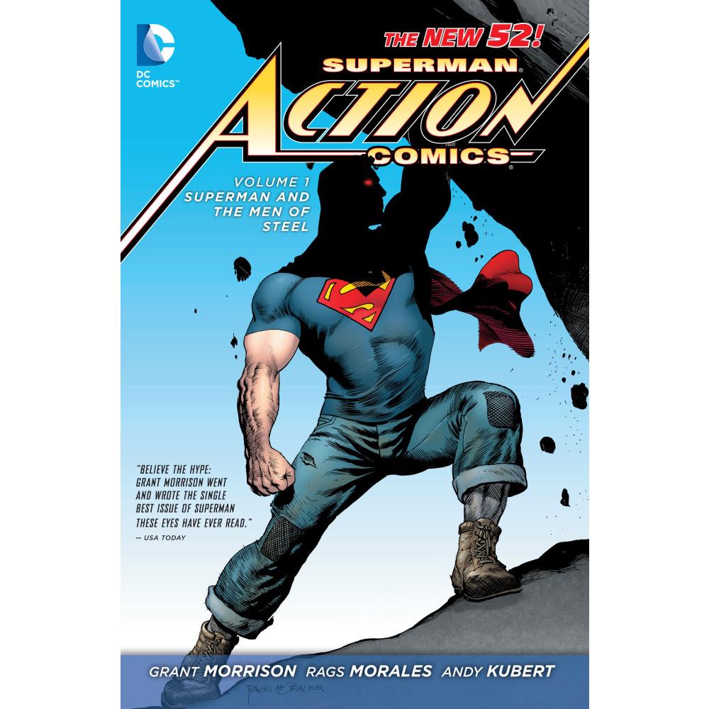 Superman Action Comics Vol 01: Superman and the Men of Steel HC